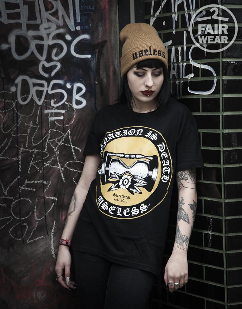 Useless Stagnation  Is Death - Unisex T-Shirt - Fair Wear