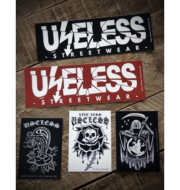 Useless Endzeit Sticker Set