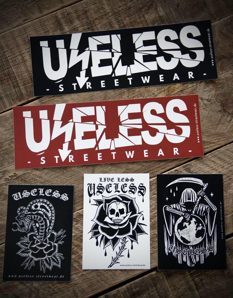 Useless Endzeit Sticker Set