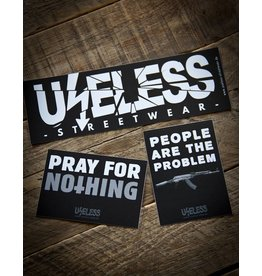 Useless Crisis Sticker Set