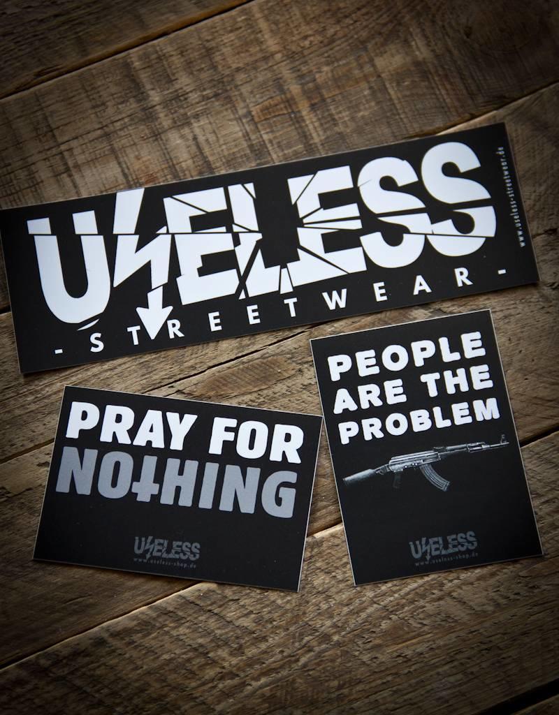Useless Crisis Sticker Set