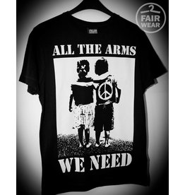 Useless All the arms we need - unisex T-Shirt, schwarz