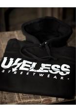 Useless Streethoodie, schwarz - Unisex