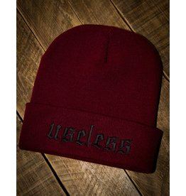 Useless Beanie Endzeit, burgundy