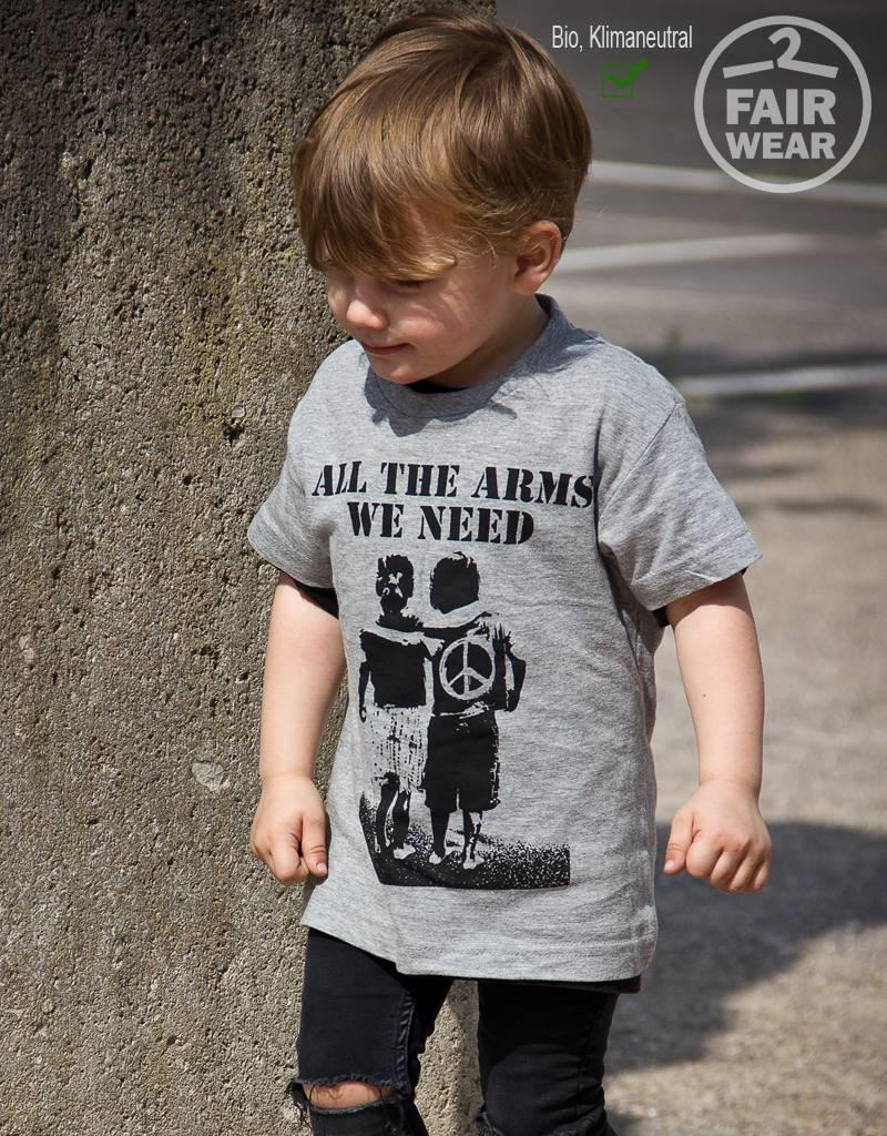 Useless Kidsshirt- All the arms we need
