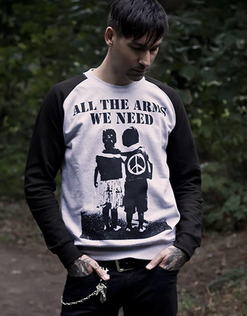 Useless All the arms we need - Unisex Sweatshirt