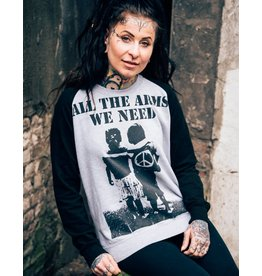 Useless All The Arms We Need - College Sweater unisex