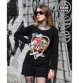 Useless Keep The Fire Burning Inside - Girl Sweatshirt