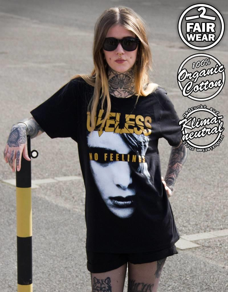 Useless No Feelings - Unisex T-Shirt, fair & bio