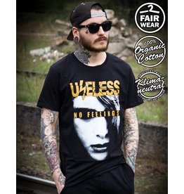 Useless Zombie - Unisex T-Shirt, fair & bio