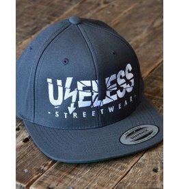 Useless Useless Snapback Cap, darkgrey