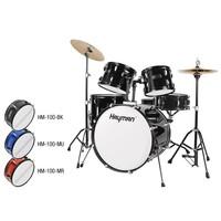 Hayman HM-100-BK  Hayman 5-delig drumstel zwart