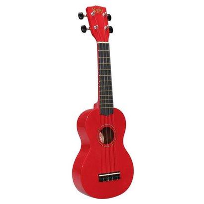 Korola UKS-30-rood Korala sopraan ukelele