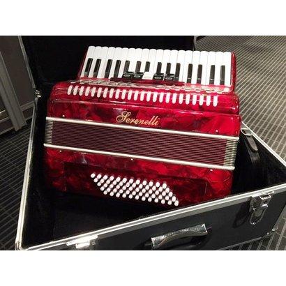 Serenelli Serenelli 60 bas accordeon rood