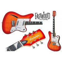 Eastwood Eastwood Surfcaster Cherry Burst
