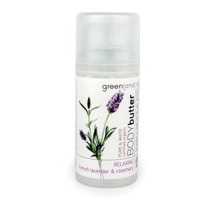 Pure & White, body butter, french lavender - rosemary, 100 ml
