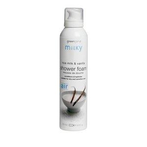 Milky, shower mousse, rice milk - vanilla, 200 ml