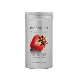 Fruit Emotions, scrub salt, strawberry-anise, 400 gr