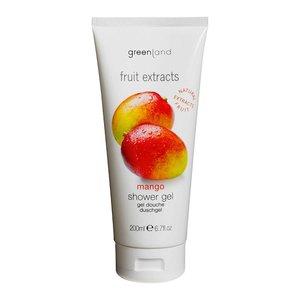 Fruit Extracts, shower gel, mango, 200 ml