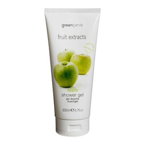 Fruit Extracts, shower gel, apple, 200 ml