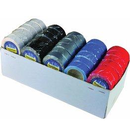 U-rope Textieltape 19mm x 4m (wit, blauw, rood, zwart, grijs)