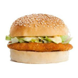Broodje Crunchy Kipburger Compleet