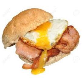 Broodje Gebakken ei/bacon