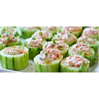 Luxe koude salade schotel 1