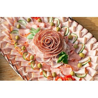 Luxe koude salade schotel 'Vlees'