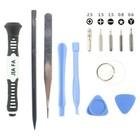 13 in 1 reparatiekit gereedschap tools voor iPhone 7 / 7 PLUS / 8 / 8 PLUS / X