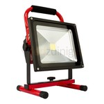 30 watt accu bouwlamp - 6500K - 2100 lumen