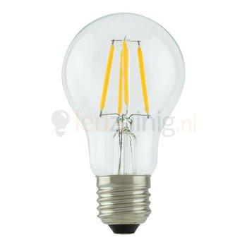 Retro led lamp - Echt glas - E27 -  Extra warm-wit - Peer