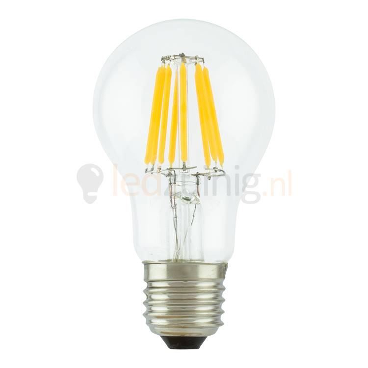 retro led lamp echt glas e27 extra warm wit peer