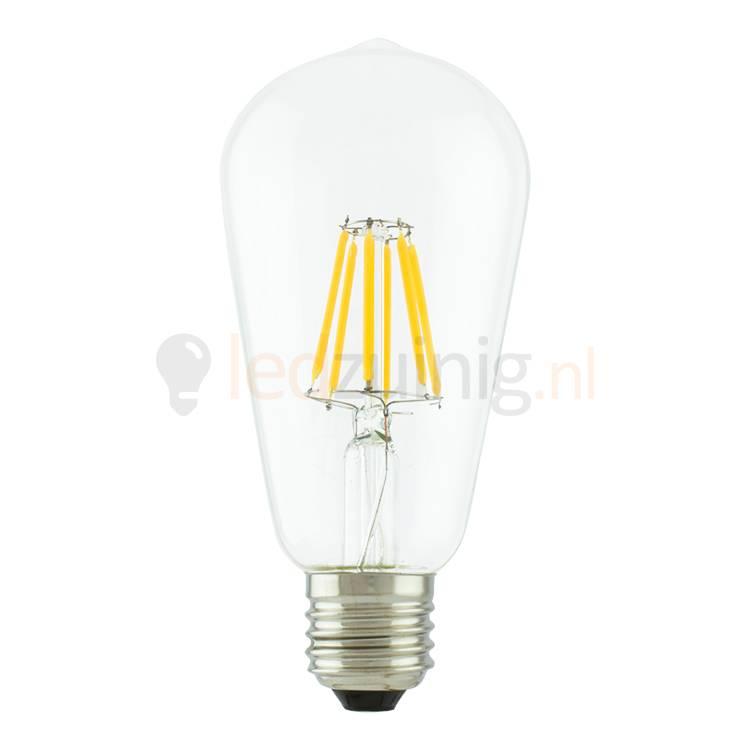 Led lamp van echt glas - Retro look - Dimbaar - Beste prijs!