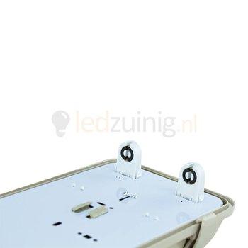 Led TL armatuur voor 2 x 150 cm led TL - IP65 waterdicht