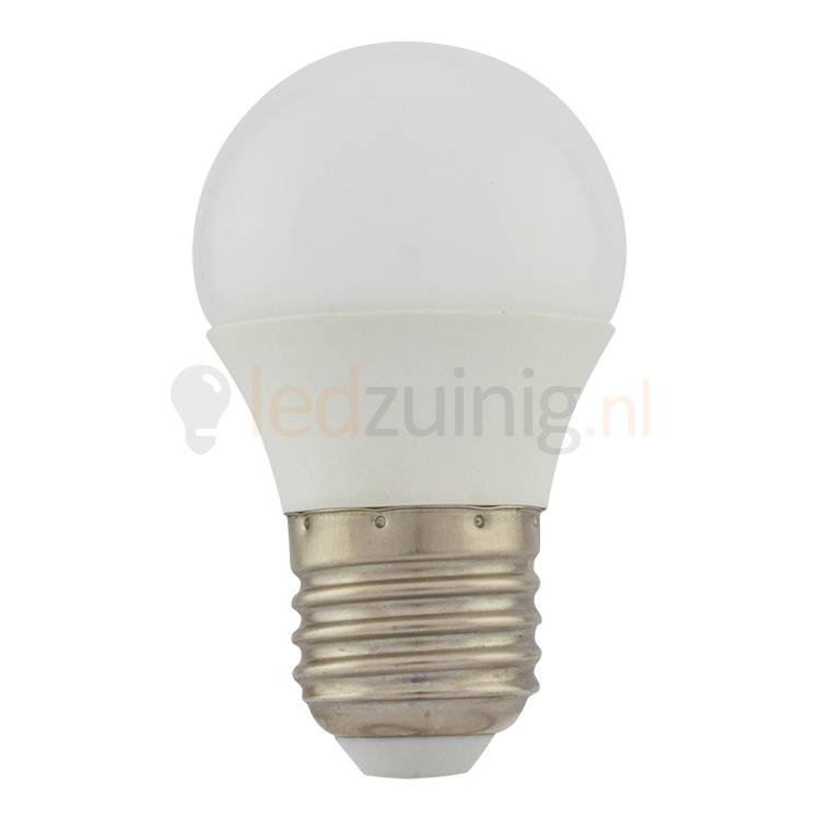 5 Watt E27 Dimbare Led Lamp   2800K   425 Lumen
