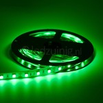 5 meter led strip - Groen - 60 leds per meter - IP65