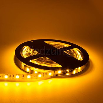 5 meter led strip - Geel - 60 leds per meter - IP65