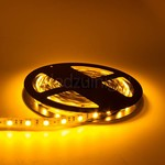 5 meter led strip - Geel - 60 leds per meter - IP20