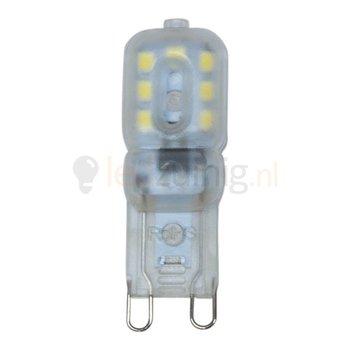 3 watt G9 led lamp - 6500K - 180 lumen - 230 volt