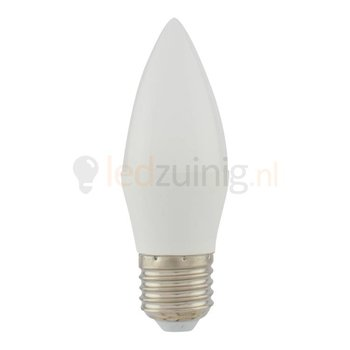 5 watt E27 led lamp - 2800K - 425 lumen - kaarsmodel
