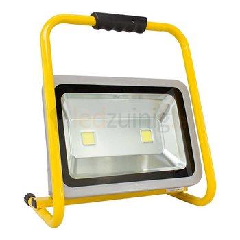 100 watt led werklamp op beugel - 8250 lumen - Koel-wit