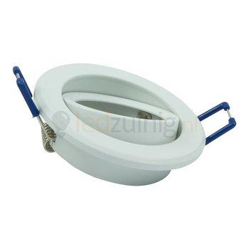 GU10 armatuur - Kantelbaar - Rond - Wit