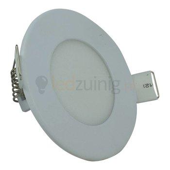 Mini led paneel - 6 watt - Natuurlijk-wit - Dimbaar - Rond