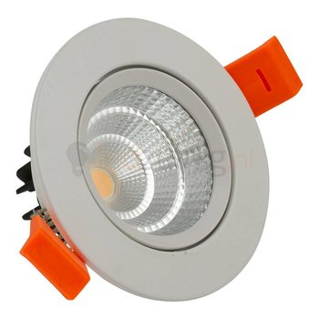 3 watt kantelbare led inbouwspot - 330 lumen (hoog rendement) - Warm-wit
