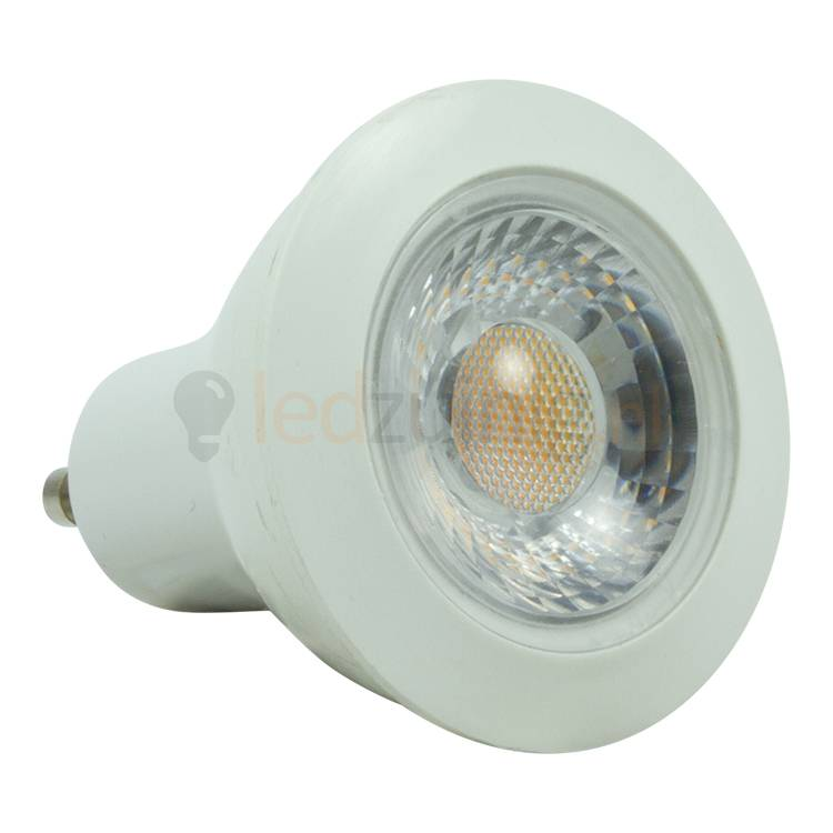 dimbare gu10 led spot 7 watt 605 lumen warm wit tip. Black Bedroom Furniture Sets. Home Design Ideas