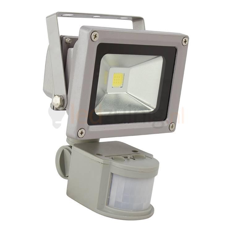 10 watt led bouwlamp - Met sensor - 850 lumen - Beste prijs!