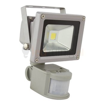 10 watt led bouwlamp met sensor - 2800K (warm-wit) - 850 lumen