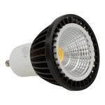 GU10 led spot - 5 watt warm-wit - 300 lumen (zwart)