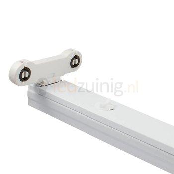 Led TL armatuur voor 2 x 120 cm led TL - IP20 voor binnen